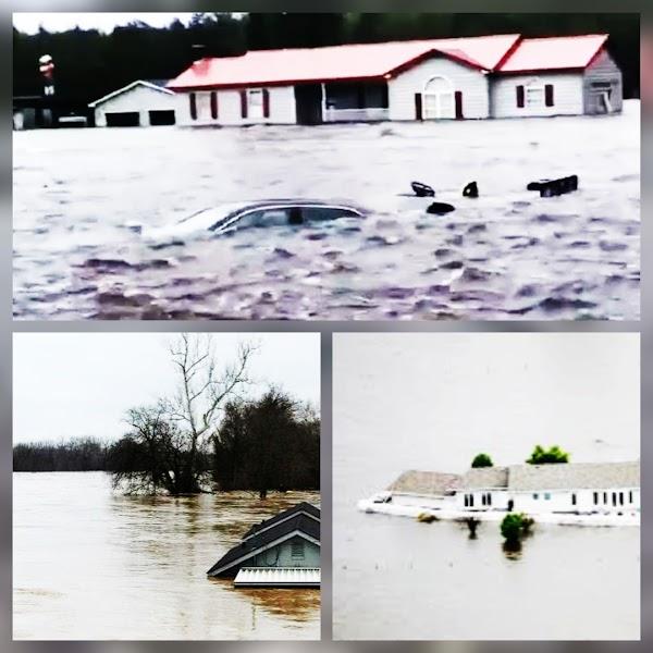 El Gobierno de Estados Unidos advierte sobre las inundaciones históricas que se avecinan
