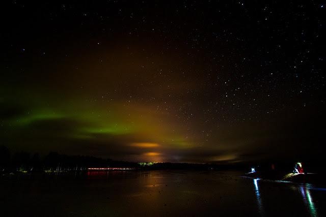 Aurora boreale all'Apukka resort-Rovaniemi