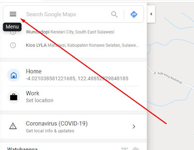 Cara Menambahkan Tempat di Google Map