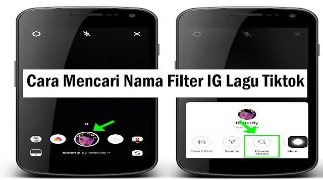 Nama Filter IG Lagu Tiktok