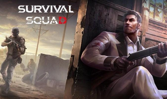 Game Battle Royale - Survival Squad