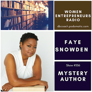 Mystery Author Faye Snowden