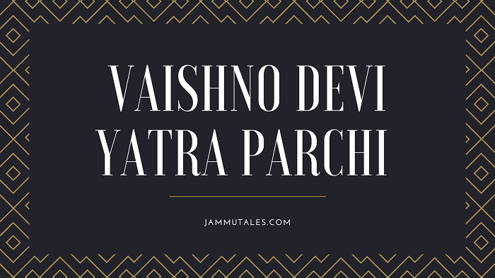 Vishno Devi Yatra Parchi Online booking
