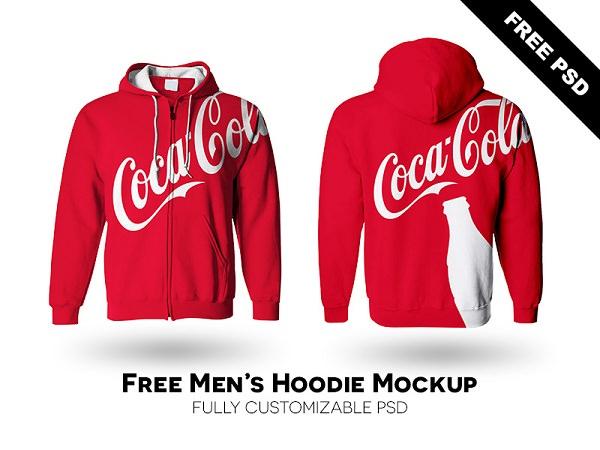 Free Download Mockup Jacket Gratis - Men's Hoodie Mockup Free PSD