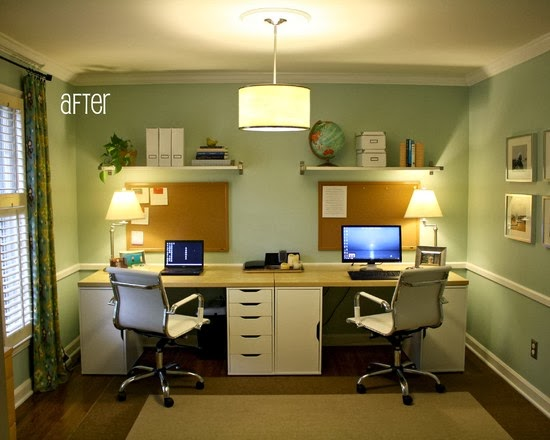 Home office ideas on a budget | Home Art Ideas