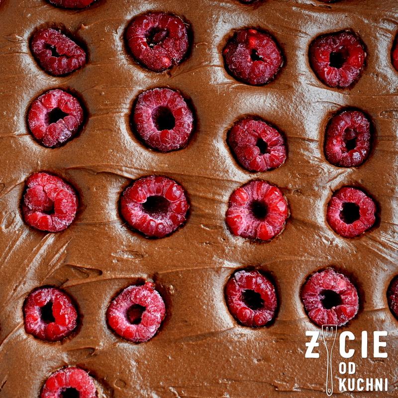 brownie, skladniki na brownie, jak zrobic brownie, najlepsze brownie, maliny poltino, poltino, zycie od kuchni