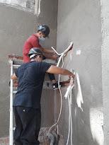 Instalasi pipa AC rumah mewah