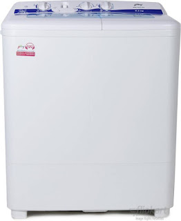 Godrej GWS 6203 PPD 6.2 kg Semi Automatic Washing Machine White
