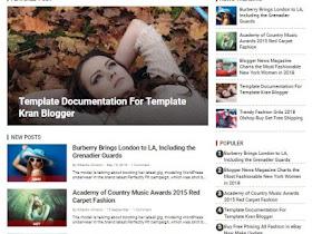Viva Style - Responsive Blogger Template