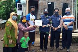Tertimpa Pohon Tumbang, Lazismu Kota Magelang Bantu Benah Rumah Bapak Hengky