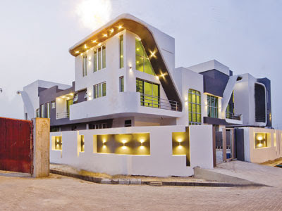 Tiwa Savage house in richmond gate estate lekki lagos