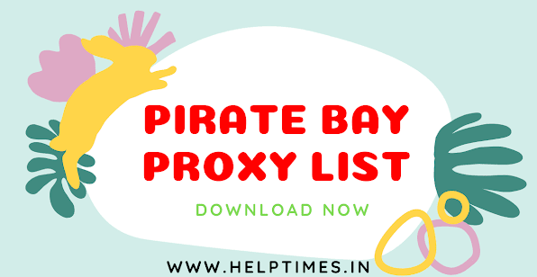 100% Free Top 20 Best (Pirate Bay Proxy List) New Link 2021