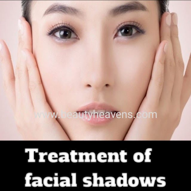 Homemade tip to get rid of clean complexion and facial shadows.