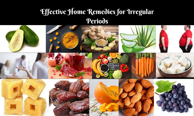 Effective Home Remedies for Irregular Periods