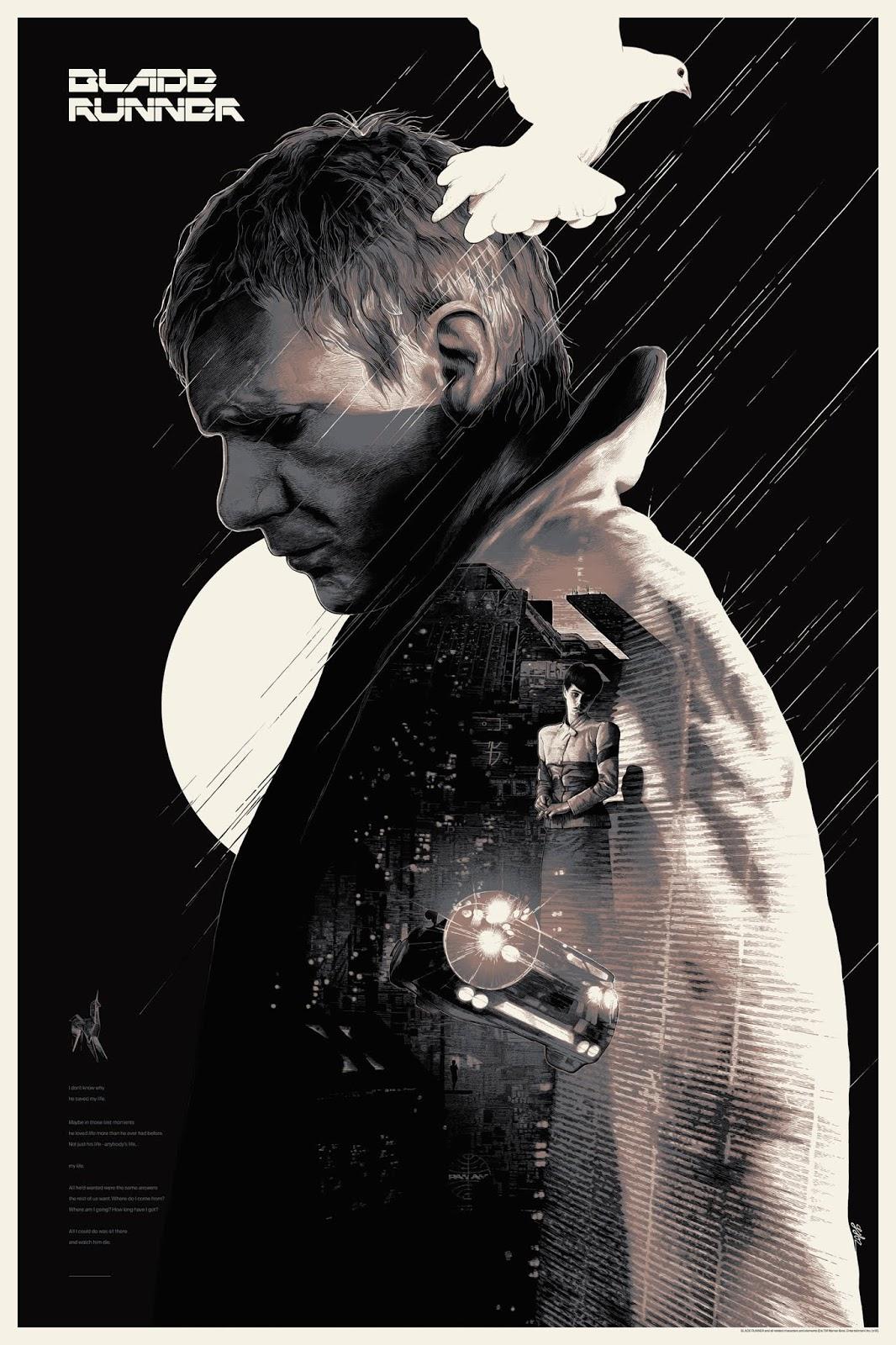 The Geeky Nerfherder Coolart Bottleneck Gallery Nycc Online Print Legend Of Five Rings Tears Amaterasu Exp Blade Runner Regular Edition By Grzegorz Domaradzki