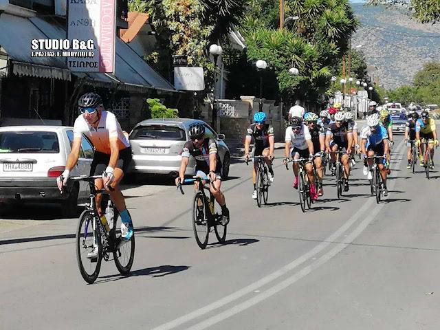 Πέρασε από την Αργολίδα η 31η Ποδηλατική Σπαρτακιάδα