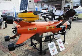 Skipper, Target Drone Bawah Air