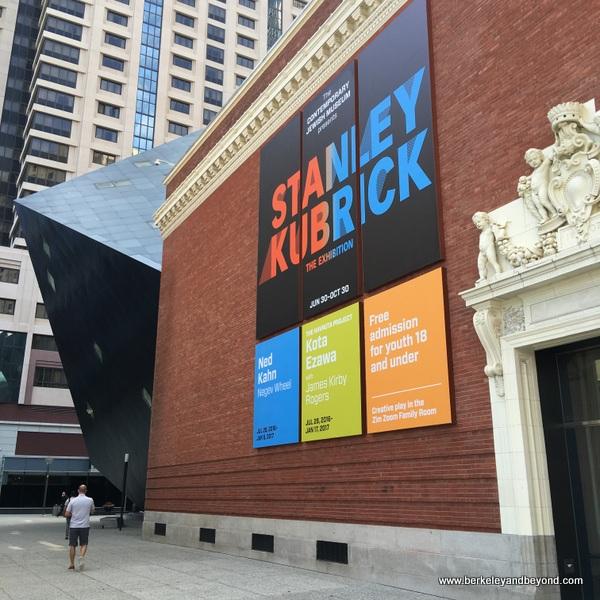 exterior of Contemporary Jewish Museum in San Francisco