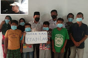Andre Sinaga Sambangi Kediaman Korban Kekerasan Anak Dihukum Sedot Air Closed Toilet
