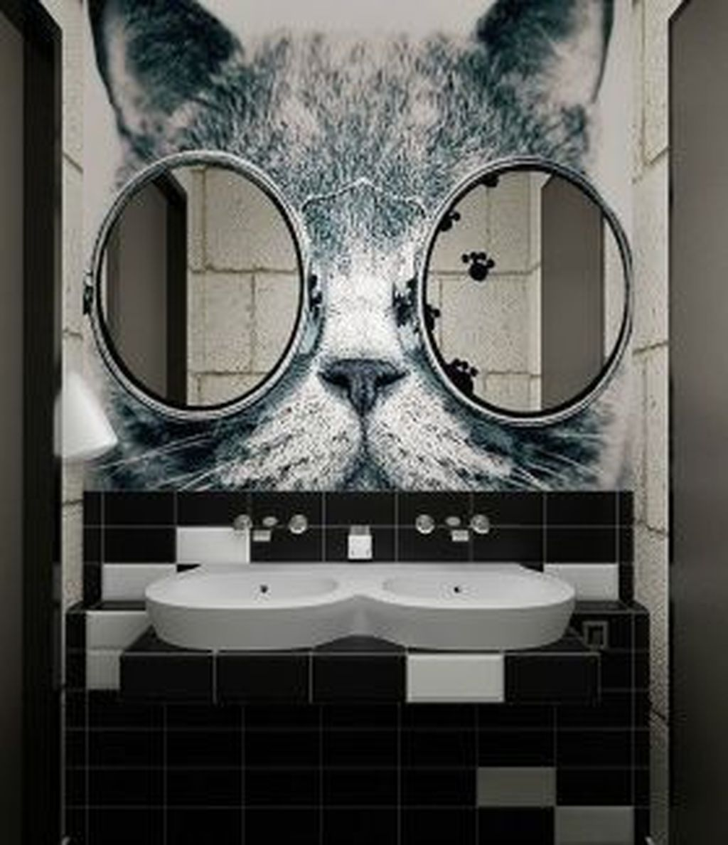 30+ Simple Bathroom Mirror Design For Minimalist ome ...