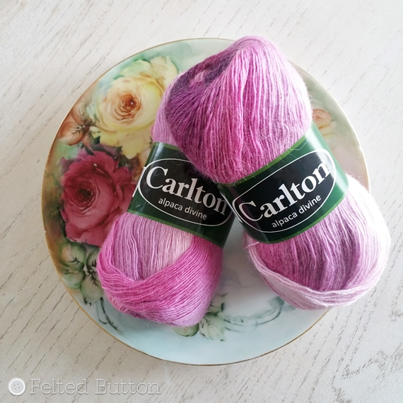 Carlton Alpaca Divine -- used to make Berniolie Izumi shawl