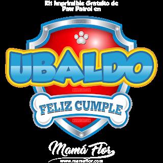 Logo de Paw Patrol: UBALDO