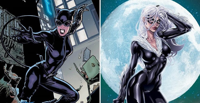 Mulher Gato e Gata Negra