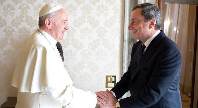 Draghi-Bergoglio, primo incontro in Vaticano