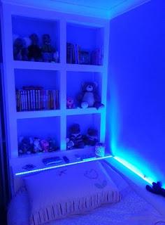 LED leuchtet