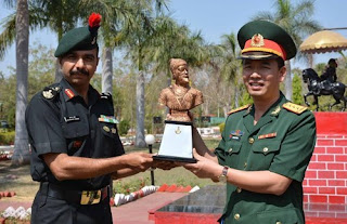 VINBAX- 1st Military Exercise between India and Vietnam