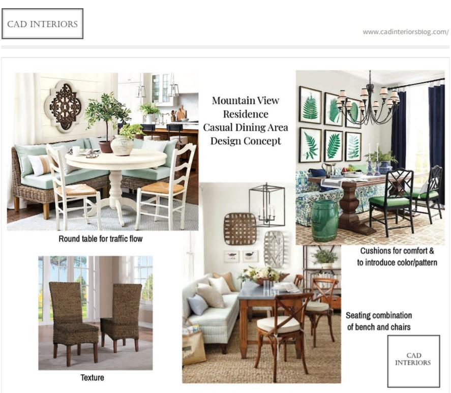 CAD Interiors E-Design Project