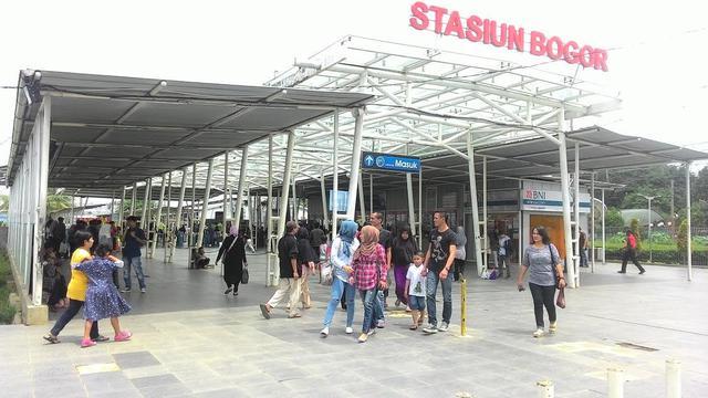 Stasiun Bogor - Jadwa KRL Bogor Tujuan Tanah Abang