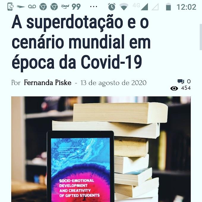 Covid-19 e a necessidade de investimento na Superdotação