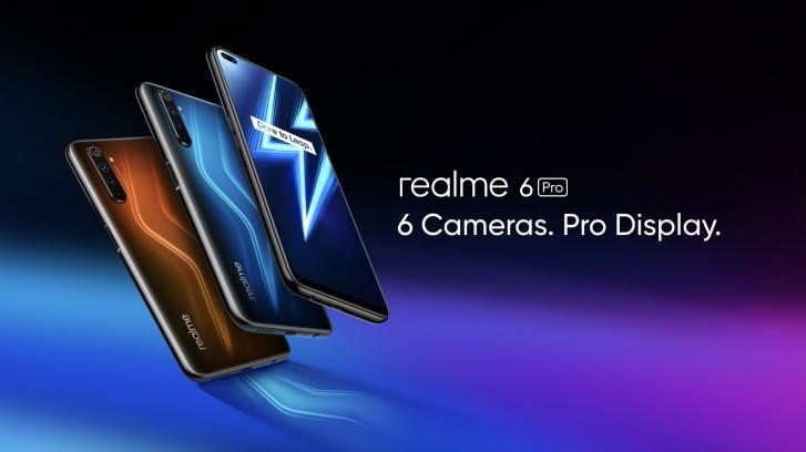 Realme officially launches Realme 6 and Realme 6 Pro phones