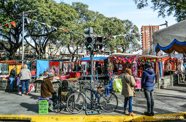 Feira da Plaza Serrano, Palermo Soho, Buenos Aires