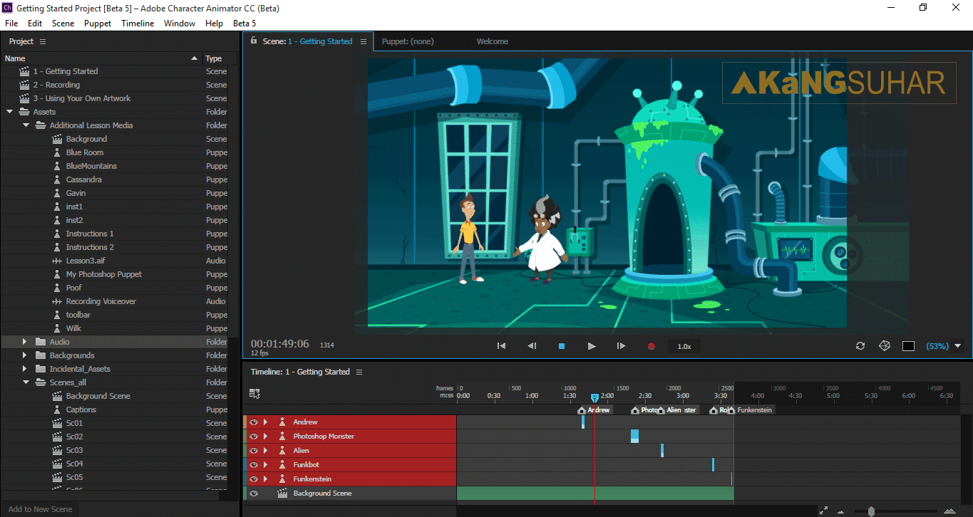 Download Adobe Character Animator CC 2017 1.0.5.141 Full Activation Key