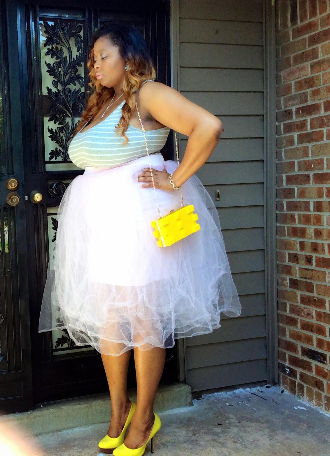 Alyssas Closet Carrie Bradshaw Inspired Size Tutu OOTD