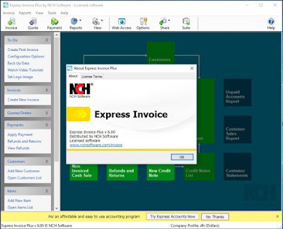 NCH Express Invoice