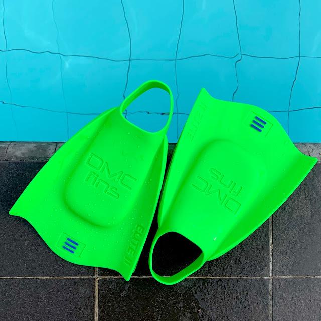 Chân vịt bơi lội ngắn DMC Elite 2 Fins JADE