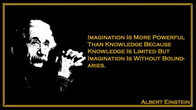 Imagination Is More Powerful Than Knowledge Because Knowledge Albert Einstein quotes