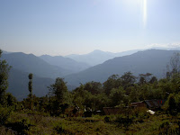 View of Kalimpong hills