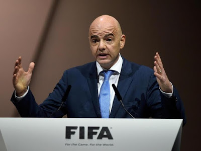 FIFA president Gianni Infantino proposesinclusion of two more African teams at 2026 World Cup that'll include 40 teams