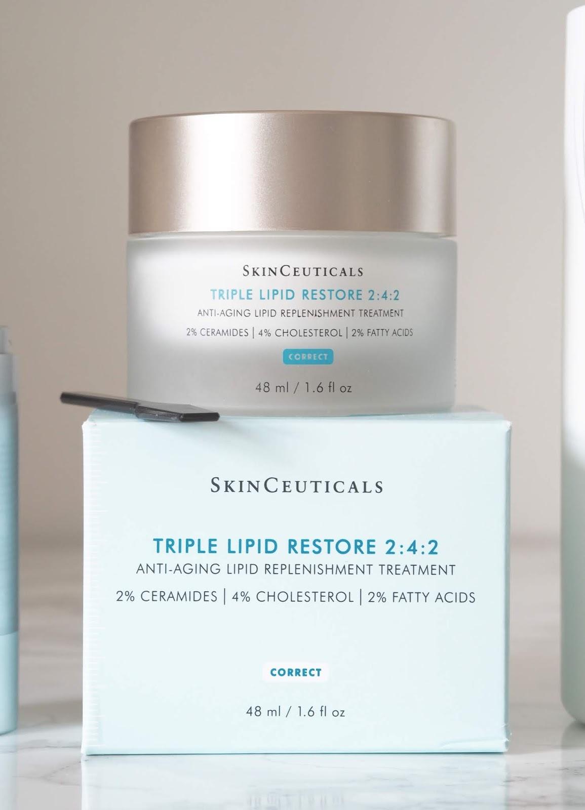 skin saviours \ Skinceuticals \ triple lipid moisturiser