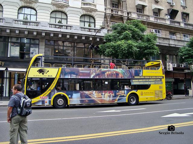 Ônibus turístico de Buenos Aires