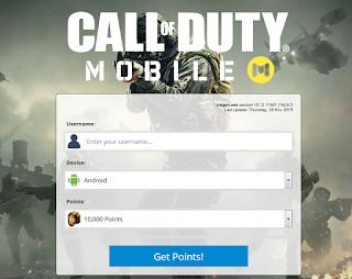 cmgen.net Cara untuk mendapatkan CP untuk COD mobile secara gratis