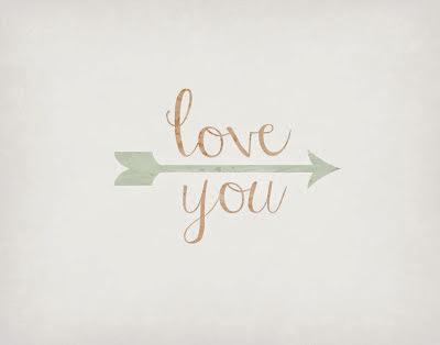 LOVE YOU art printables