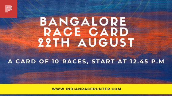 Bangalore Race Card 22 November