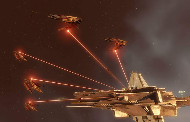 The latest EVE Online patch added AMD's FidelityFX Contrast Adaptive Sharpening