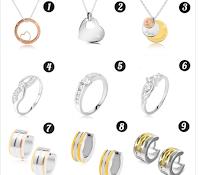 Logo Gioielli Eshop: puoi vincere gratis il gioiello romantico che preferisci