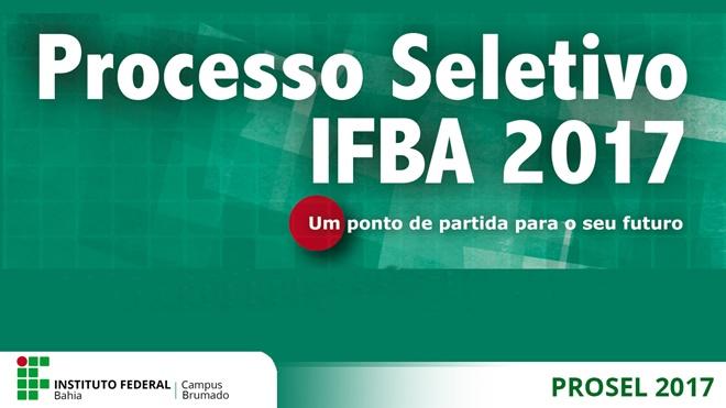 IFBA adia processo seletivo 2017 por conta de ocupações estudantis